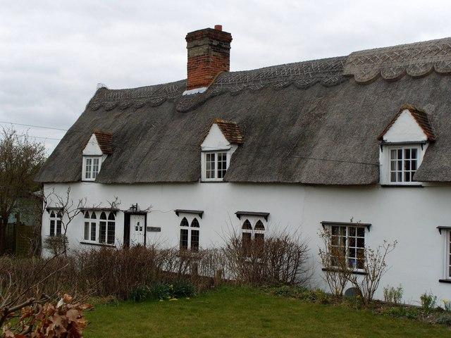 Old Terraced Cottages, Abington