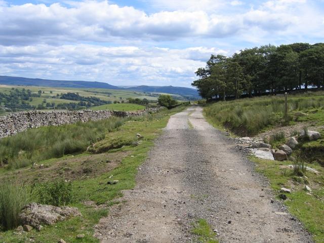Lane near Old Accraplatts