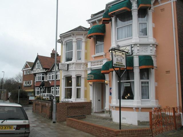 Guest houses in Waverley Road