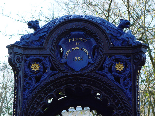 The Victorian Drinking Fountain, Pearson Park, Hull