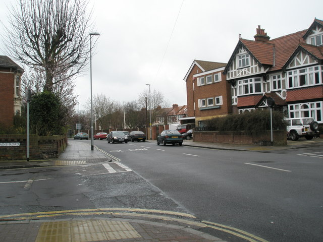 Junction of Gains Road and Waverley Road