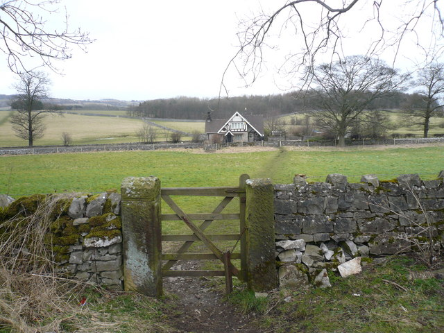 Toll Bar House - View from Monsal trail