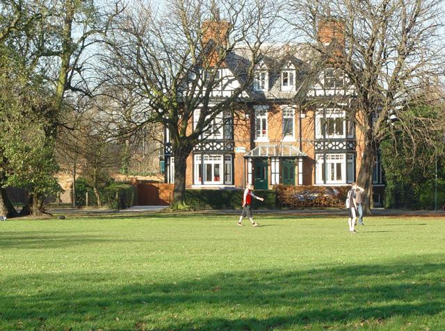 Mock Tudor in the Park