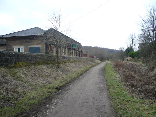 Former Hassop Station - Now a Bookshop and Cafe