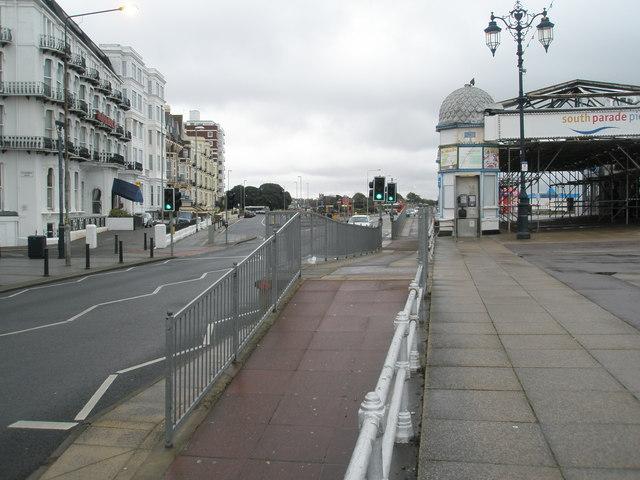 Ramp at South Parade Pier