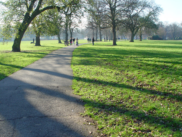 The Path through Pearson Park