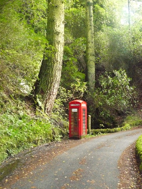 Phone Box at Carsaig, Isle of Mull