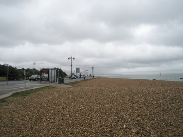 Bus stop on Southsea Esplanade