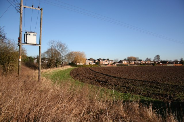 View to Pilley's Lane