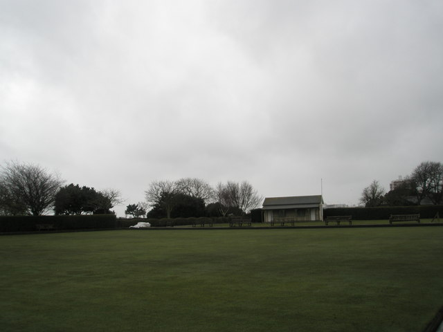 Municipal Bowling Green on Southsea Seafront