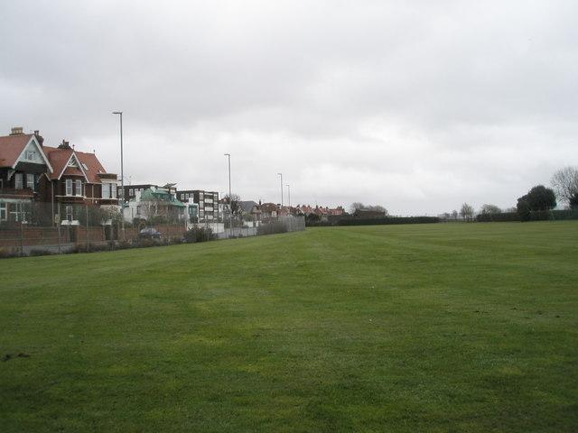 Recreation ground near Southsea Rose Garden