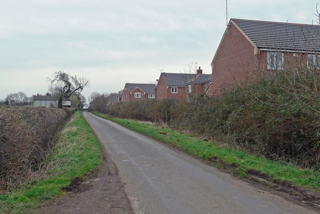 Cottage Lane near Broughton Astley
