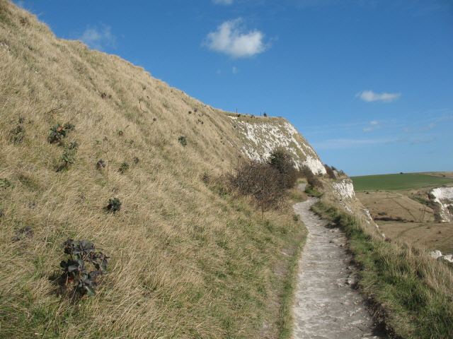 Footpath from Dover to St Margaret's at Cliffe