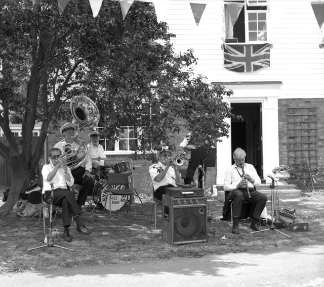 The village band at Egerton, Kent