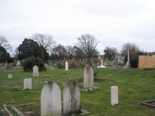 Cemetery at Highland Road
