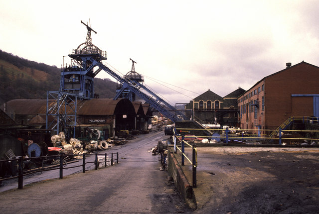 Six Bells Colliery Abertillery Chris Allen Geograph