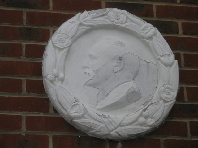 Interesting plaque in Haslemere Road
