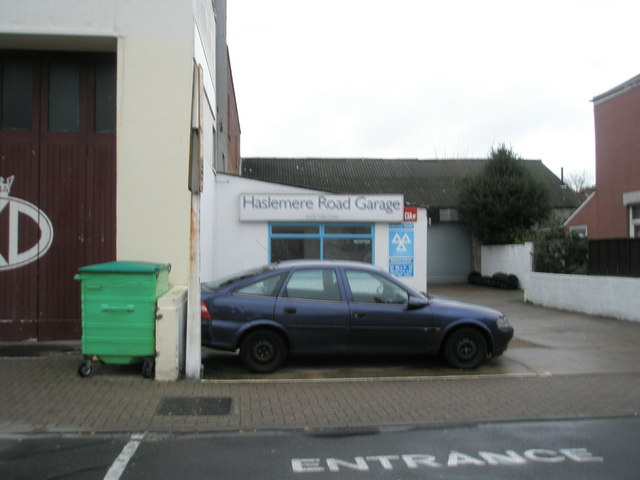 Haslemere Road Garage