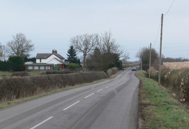 Broughton Road towards Broughton Astley