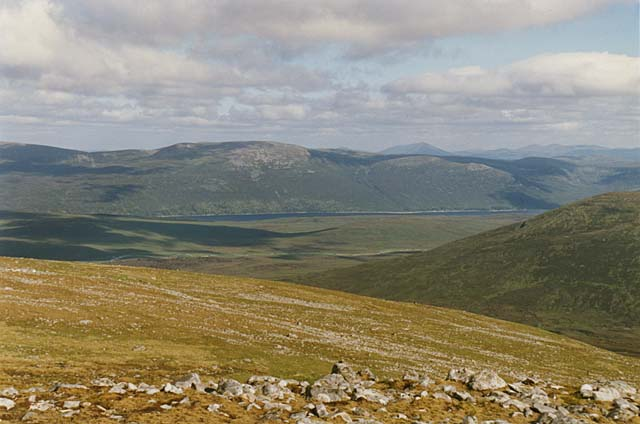 Southern slopes of Geal Charn
