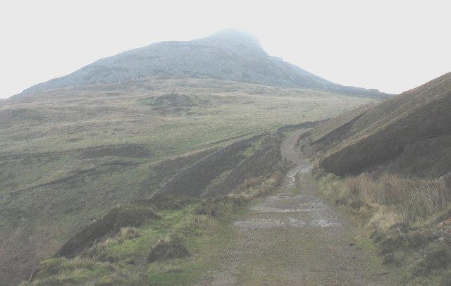 The Bwlch yr Eifl track