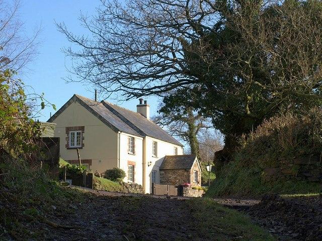 Cottage below Badharlick