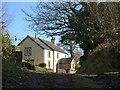 SX2686 : Cottage below Badharlick by Derek Harper