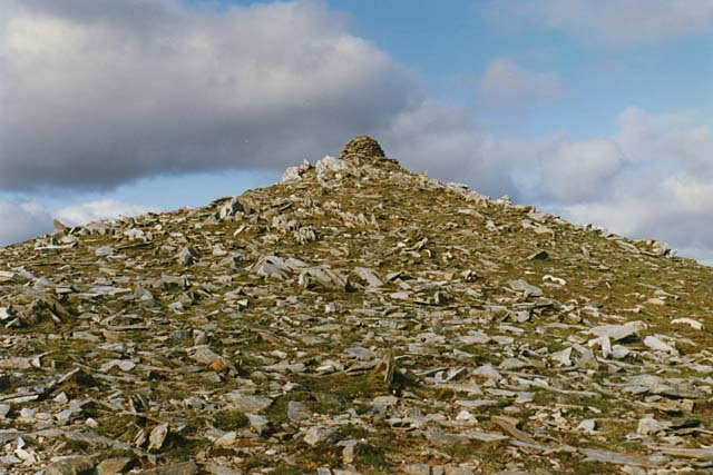 The summit of Geal Charn