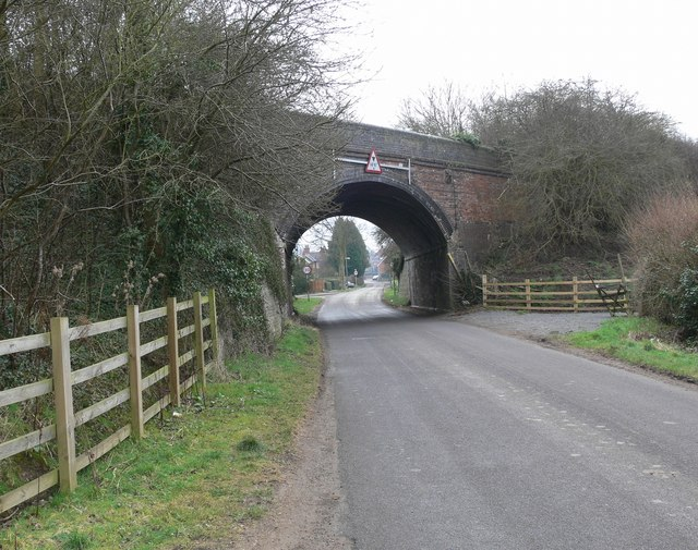 Broughton Lane towards Leire
