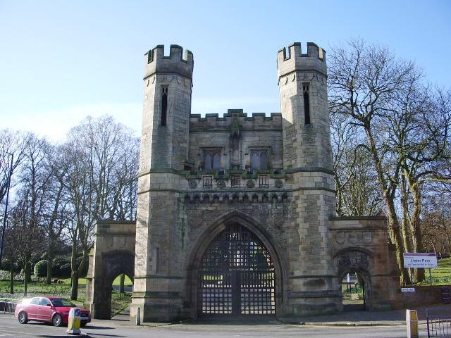 Entrance to Lister Park, Shipley
