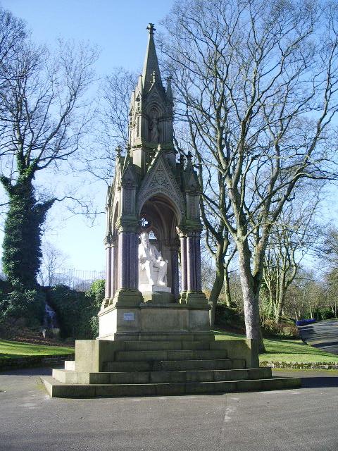 Statue, Lister Park, Shipley