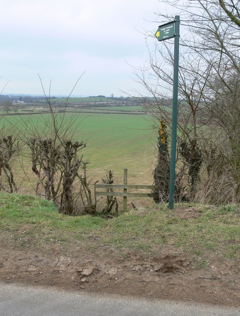 Public Footpath to Leire