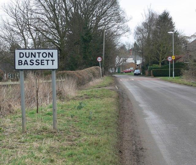 Leire Lane enters Dunton Bassett