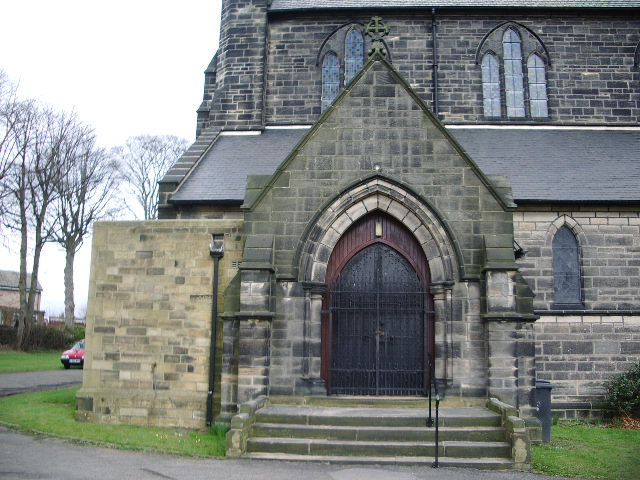 The Parish Church of St Margarets, Horsforth, Porch