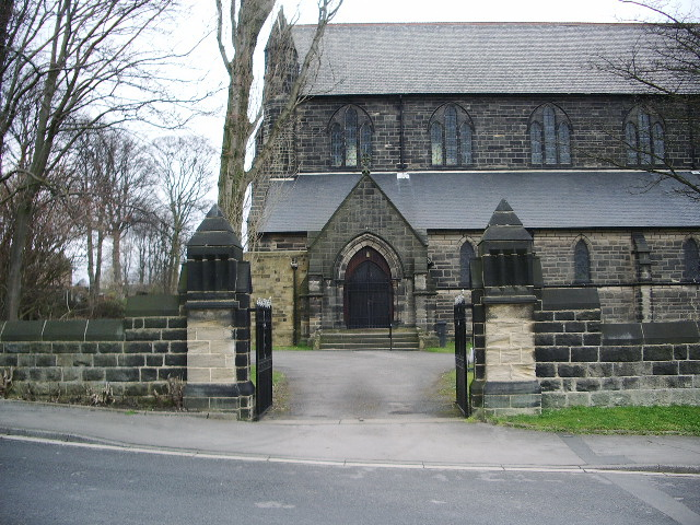 The Parish Church of St Margarets, Horsforth, Entrance