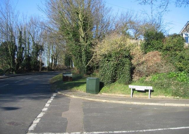 Dangerous road junction