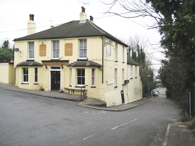 Stone: Lads of the Village public house
