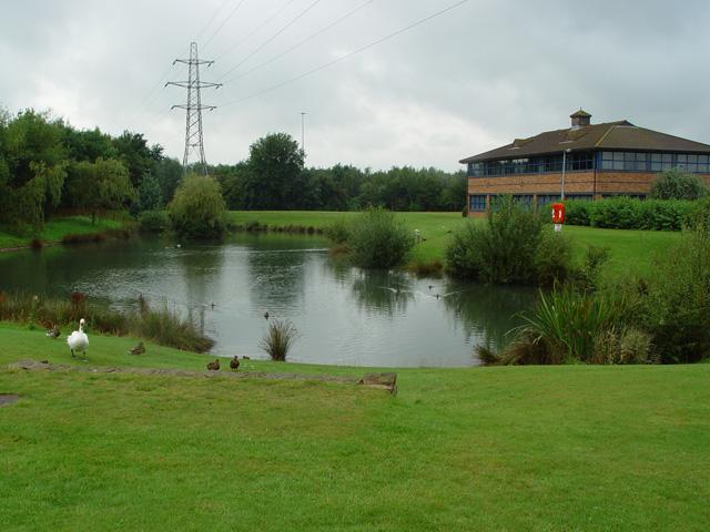 The Lake, St David's Business Park, Ewloe