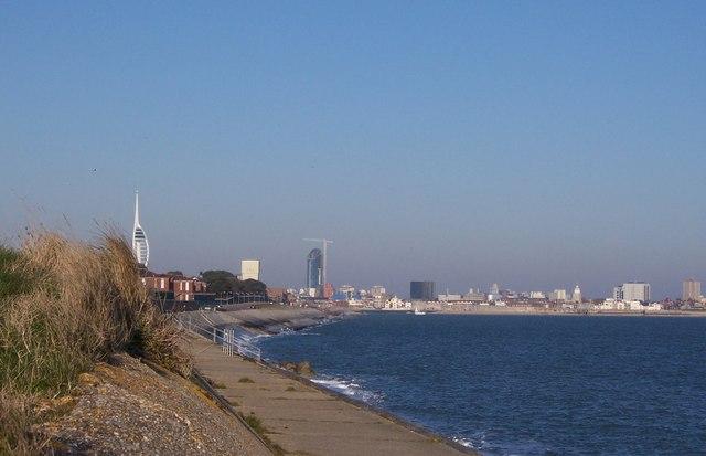 Haslar Sea Wall-Gosport