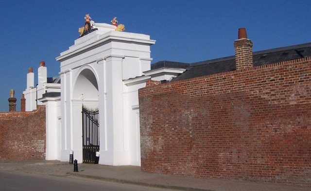 Old Gate to Clarence Yard-Gosport