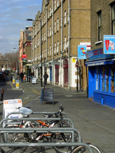 Pitfield Street, Hoxton