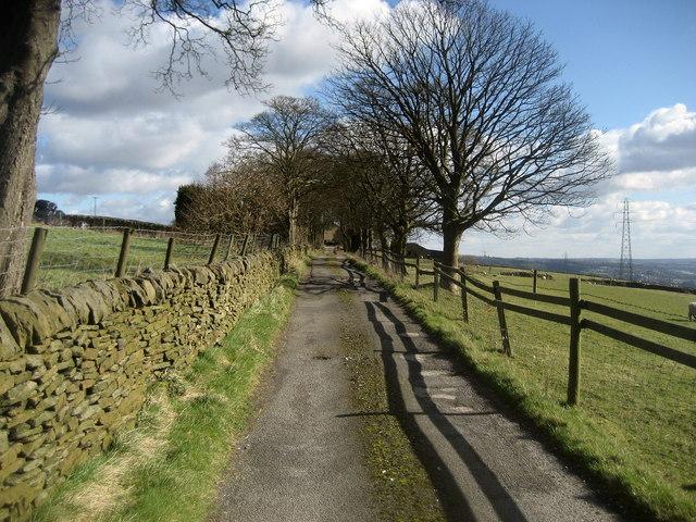 Access Lane to Larkfield Farm