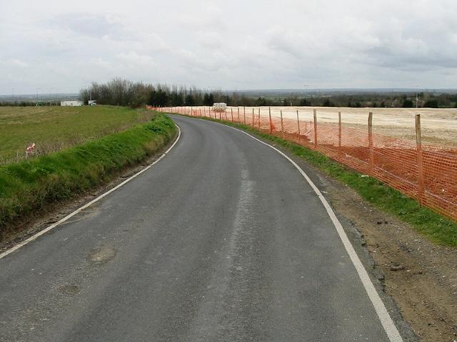 View towards Monkton along Seamark Road