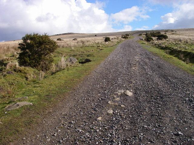 Track climbing Mynydd Garn-wen