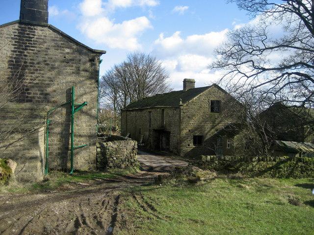 Abandoned Buildings near The Heights Farm