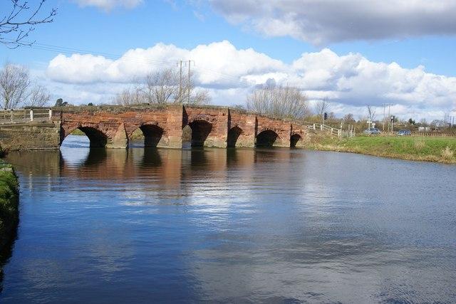 Eckington Bridge- 9th March 2008
