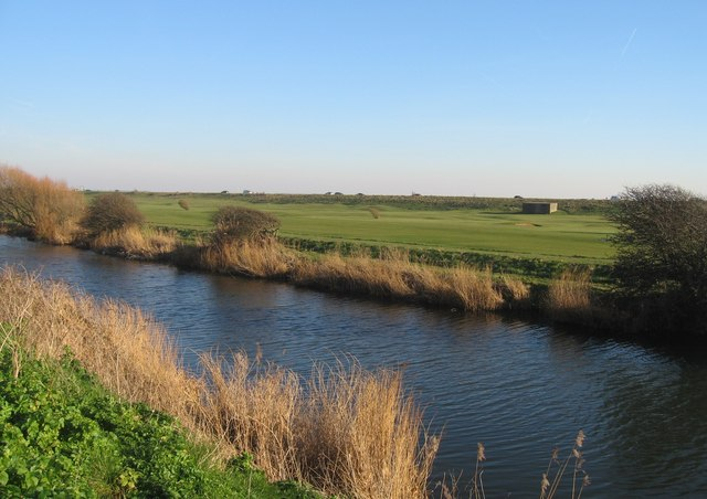 Canal & golf course