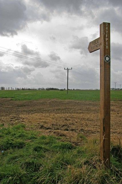 Footpath to Burnham