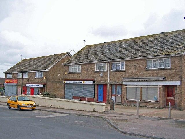 Local shops, Rushenden