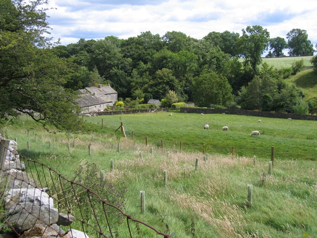 View towards Kirkby Malham from Cow Close Lane